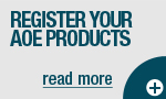 Register your AOE product
