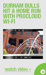 Durham Bulls hit a homerun with ProCloud Wi-Fi