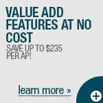 Free AP License Save up to $145 per AP - Act Now!