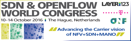 SDN & Open Flow World Congress 2016 banner